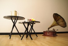 Trio coffee tables